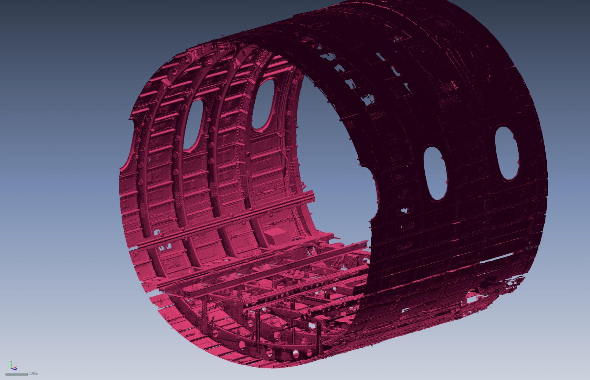 Air-frame Reverse Engineering